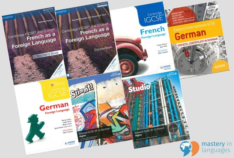 French and German IGCSE Textbooks